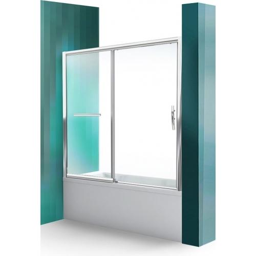 ROLTECHNIK Vanová zástěna s posuvnými dveřmi PXV2L/1600 brillant/transparent 451