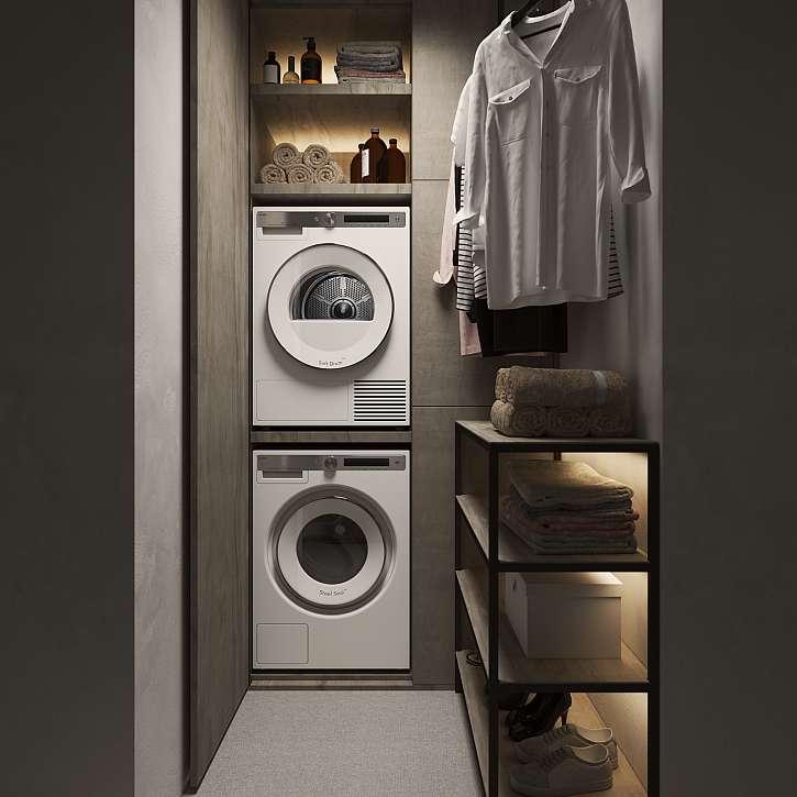 Exkluzivní spotřebiče skandinávské značky ASKO určené do prádelny upoutají už na první pohled nepřehlédnutelným designem  a špičkovým provedením