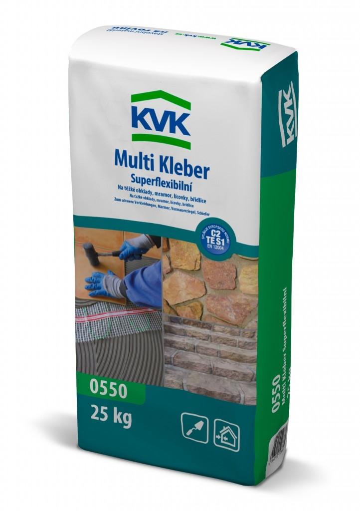 Špičkou pro dřevostavby - 0550 KVK Multi Kleber Superflexibilní
