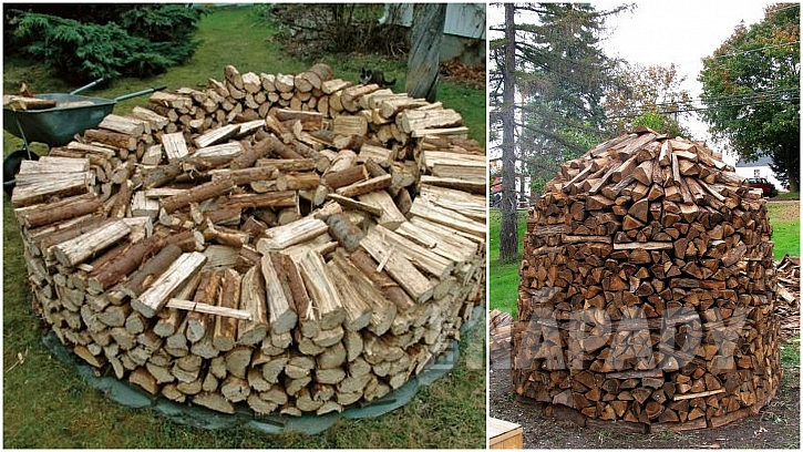 Dřevo do kamen: dokolečka dokola