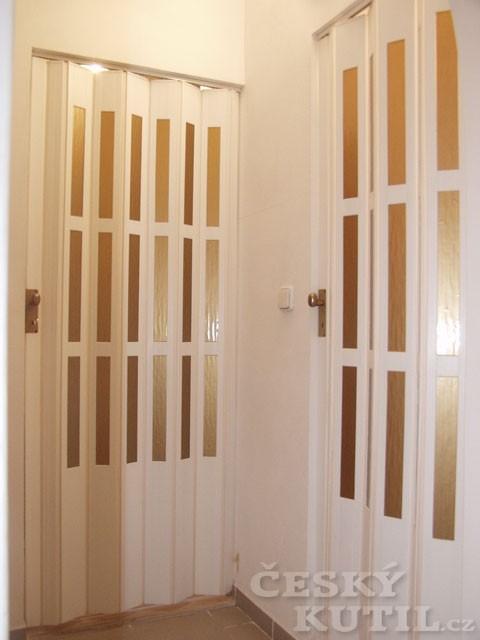 Dveře lamelové