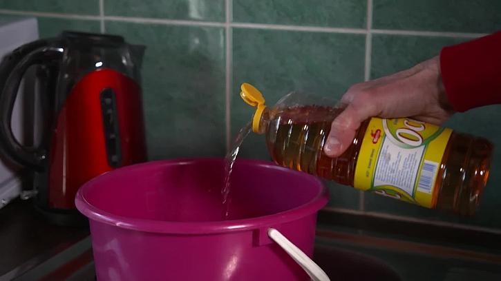 Příprava octové vody
