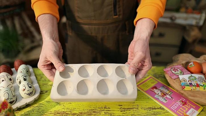 Betonová platíčka na vejce