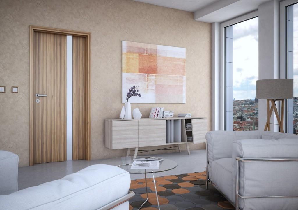 Rekonstrukce domácnosti často znamená výměnu dveří
