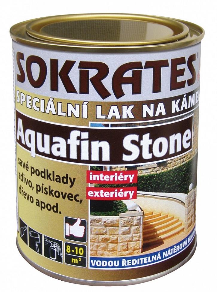SOKRATES Aquafin STONE - speciální lak na kámen a minerální podklady
