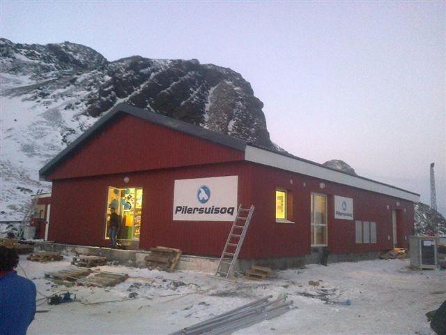 Střešní krytina Lindab z Prahy v Grónsku