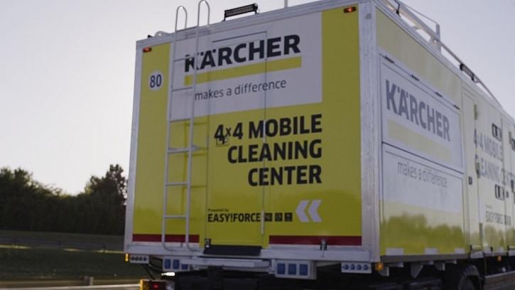 Kärcher každým rokem inovuje čisticí techniku