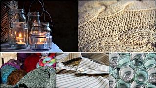 Vánoční dárky za hubičku: Recyklace je v módě