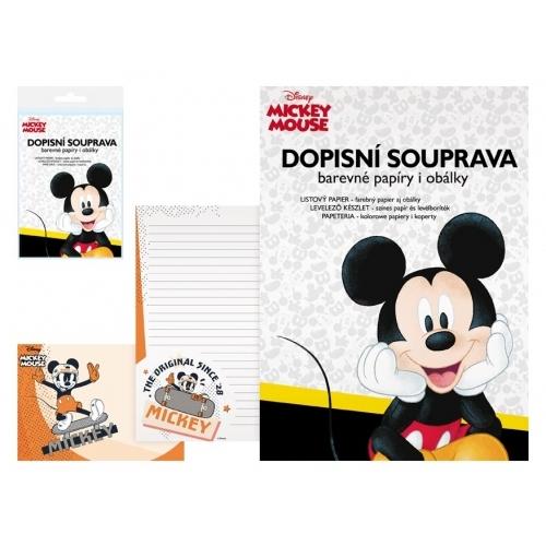 MFP dopisní papír barevný LUX 5+10 Disney (Mickey)