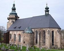 Restaurování vitráží v kostele Sv. Jiří