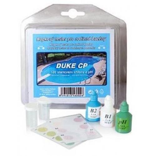 Bazénový kapkový tester pro stanovení chloru a pH 20-00-061