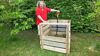 Zahradní kompostér vyrobíme s šikovnými pomocníky za chvíli
