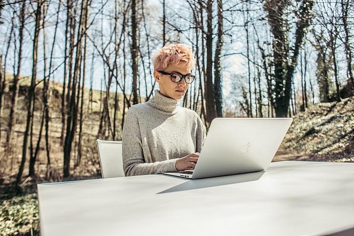 Kancelář v lese