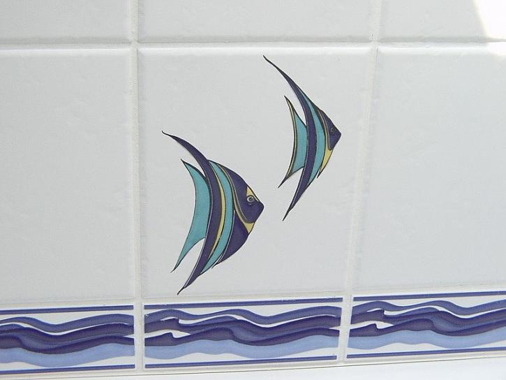Koupelna s rybkami