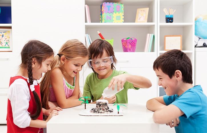 Zabavte děti chemickými pokusy (Zdroj: Depositphotos)