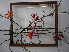 Vyrobte si květinové dekorace z podzimních květů a plodů