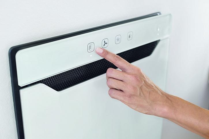 Intuitivní ovládání na dotykovém panelu