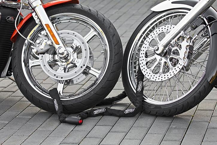 Zabezpečení pro motorky proti krádeži
