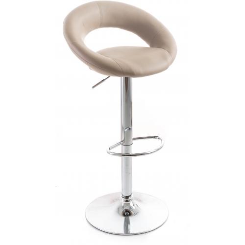 G21 Barová židle Orbita koženková kafe