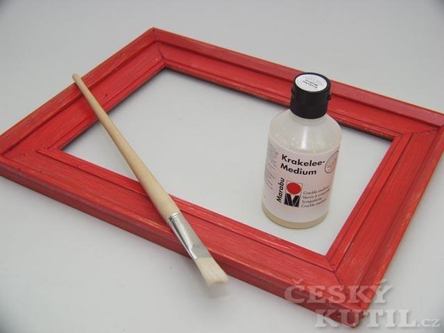Krakeláž – výtvarná technika
