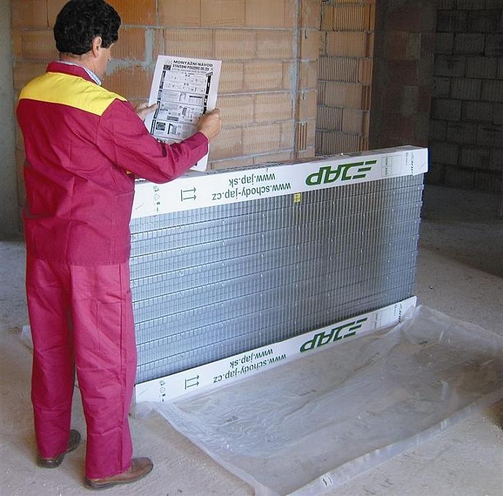 Montáž stavebního pouzdra do zděné příčky krok za krokem