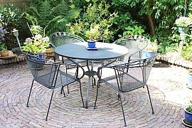 Vybíráme zahradní nábytek pro malou zahradu
