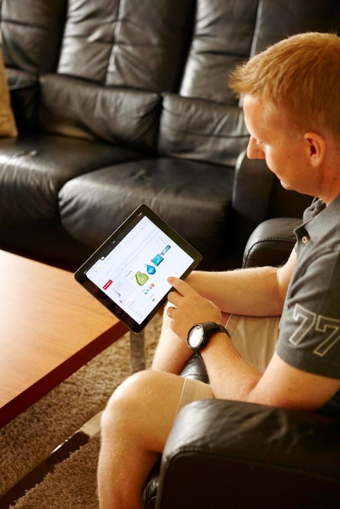 Tepelné čerpadlo NIBE – ovládání pomocí SMS