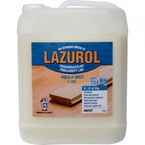 Lazurol Aqua P UREX V1301 mat odolný lak na dřevo bezbarvý, 5 kg