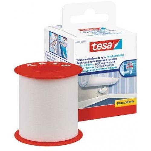 TESA Opravná páska na trhliny ve stěně, bílá, 10m x 50mm