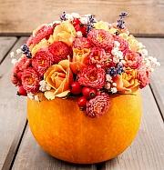 Dýním ještě neodzvonilo, vyrobte z nich podzimní dekoraci