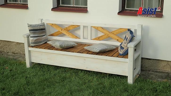 Každý šikovný kutil si svou stylovou lavici vyrobí sám (Zdroj: Prima DOMA)