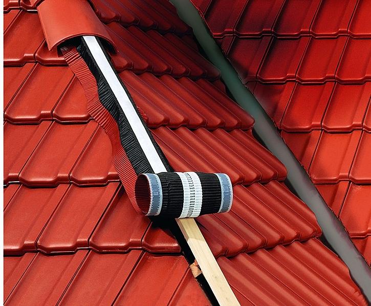 Aby mohla střecha správně fungovat, musí dostatečně větrat