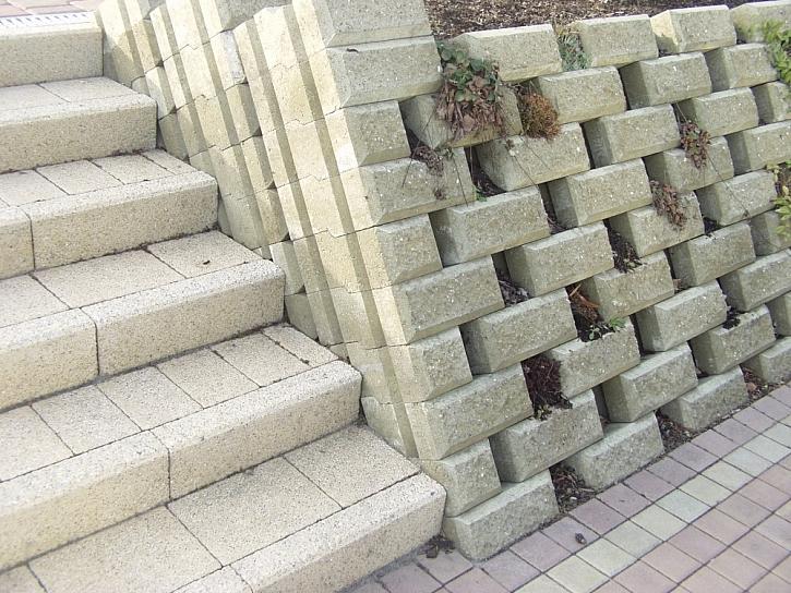 Zámková dlažba a schody