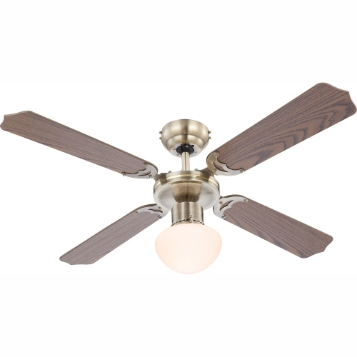 GLOBO 0309 stropní ventilátor se světlem CHAMPION