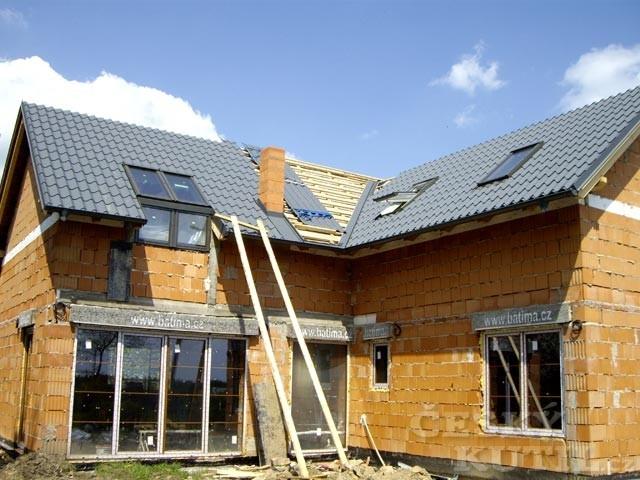 Střecha Lindab: hotová za pár dní…