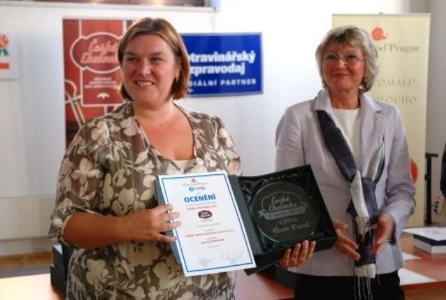 Klostermann získal ocenění Česká chuťovka 2011