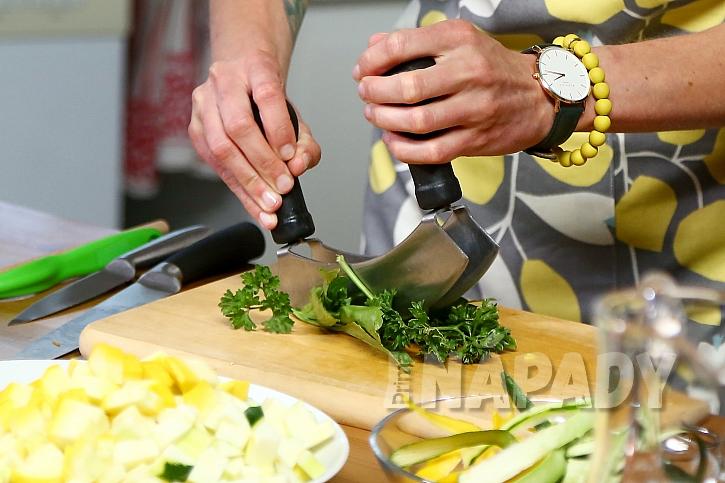 3. krok: nakrájejte mrkev