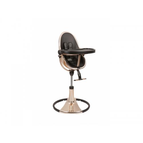 Bloom Židlička Fresco Chrome GOLD ROSE (special luxury edition), bez podložky