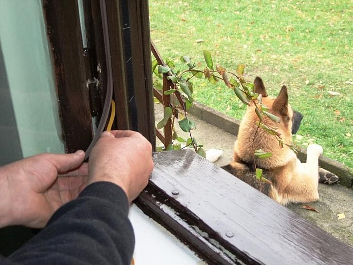 Zateplení okenních rámů