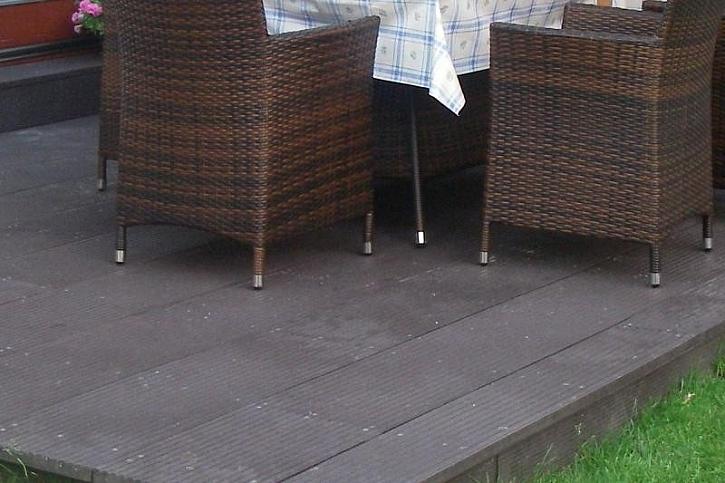 Plastové terasové desky