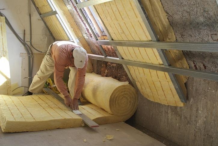 Vnitřní izolace šikmé střechy