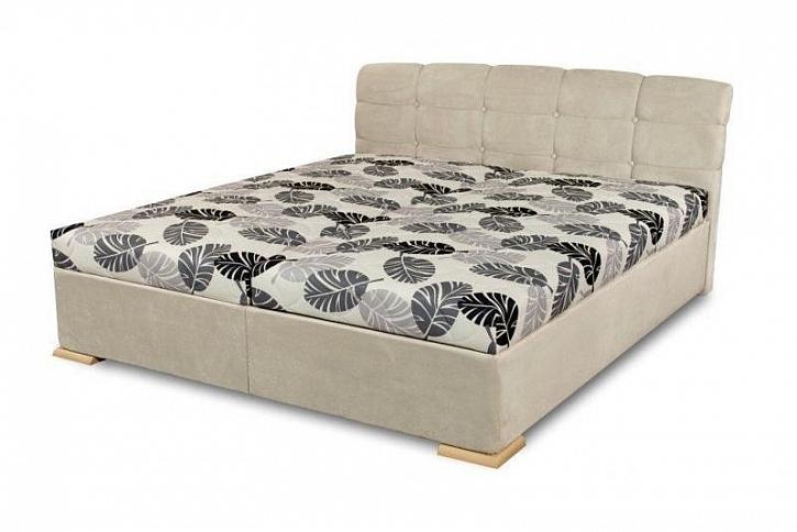Čalouněná postel Violetta poskytuje i dostatek úložných prostor