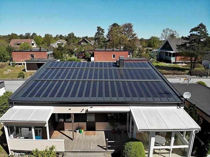 Lindab SolarRoof využívá nejmodernější technologie