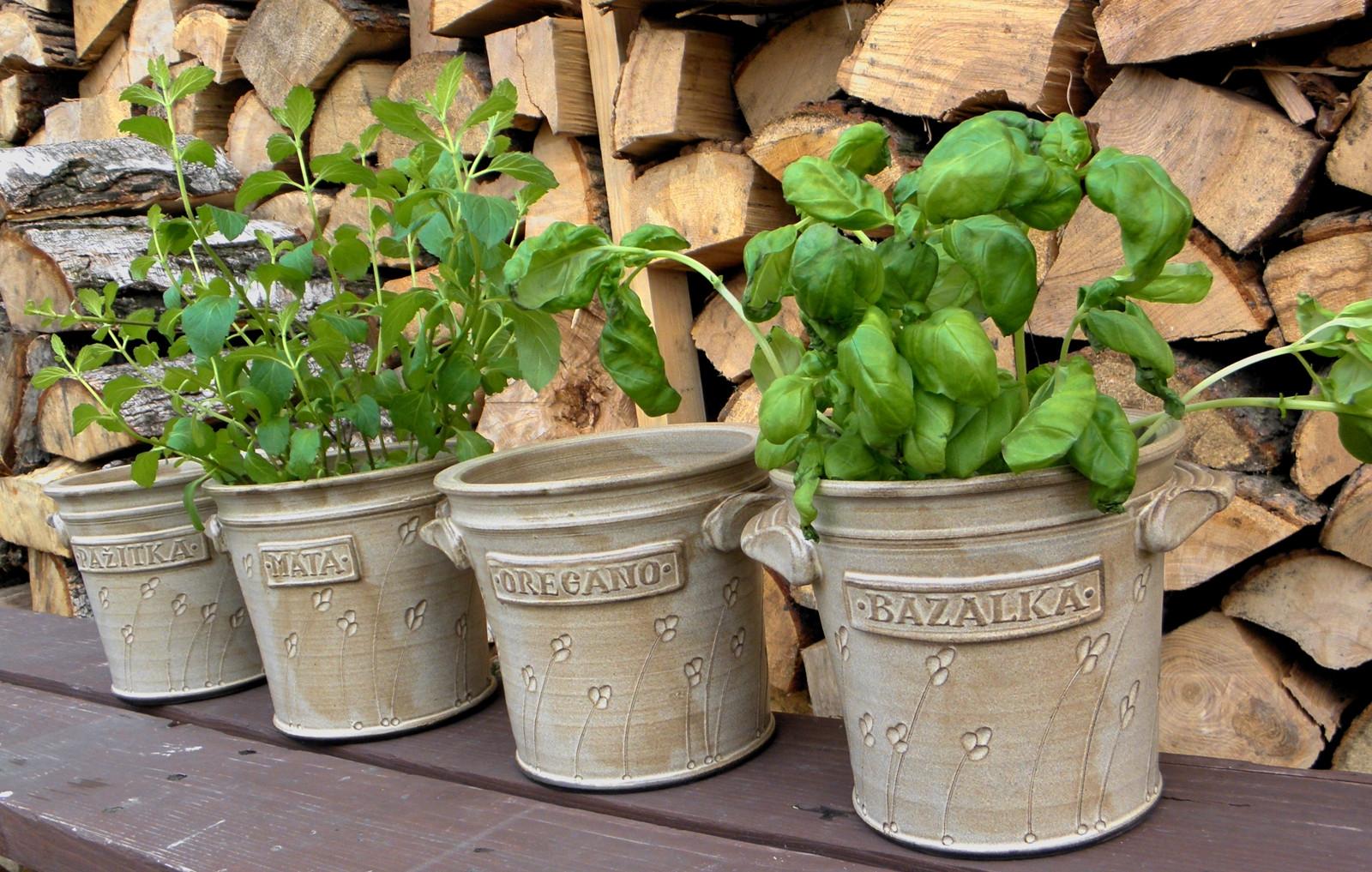 Šikovné pomůcky pro pěstitele a milovníky bylinek