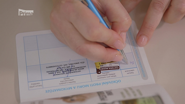 Očkovací list