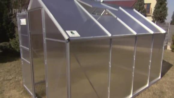 Skleník hliníková konstrukce