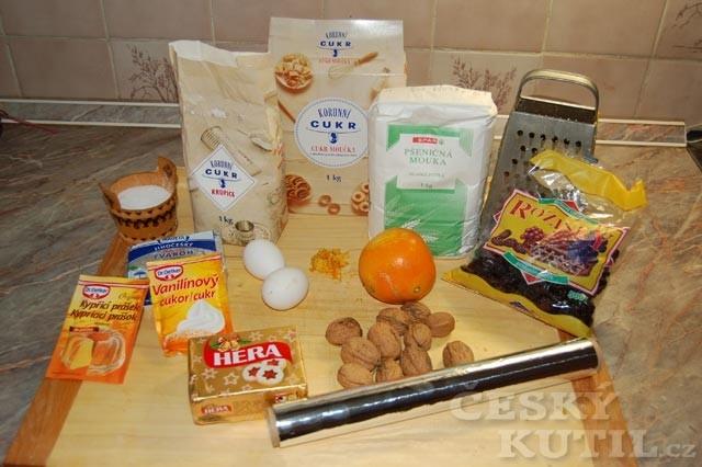 Recept na nekynutou vánoční štolu z tvarohu