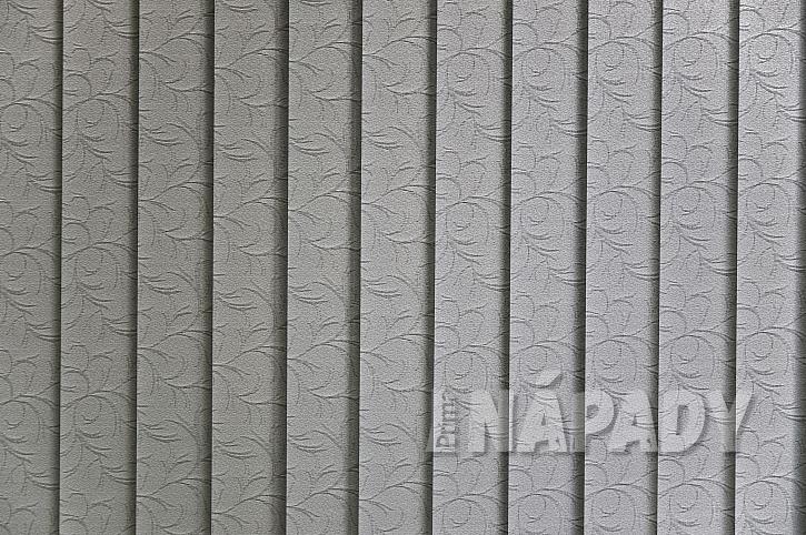 Žaluzie vertikální textilní vzor