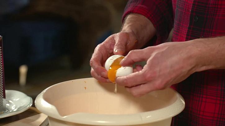 Rozklepnuté vajíčko