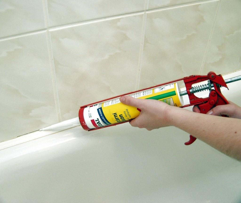 Sanitární silikonové tmely